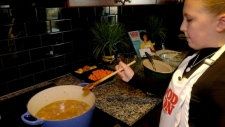 Calgary tween cook inspires others
