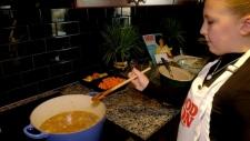 Calgary tween cook inspires others