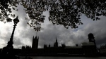 A grey sky over Britain's Parliament buildings in London, Friday, Oct. 18, 2019. THE CANADIAN PRESS/AP/Kirsty Wigglesworth