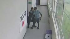 Oregon teacher disarms student with a shotgun