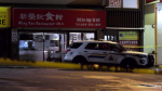 Homicide investigators were called to a restaurant in Richmond where a body was discovered Friday afternoon. (CTV)