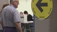 Voter in Windsor Ontario