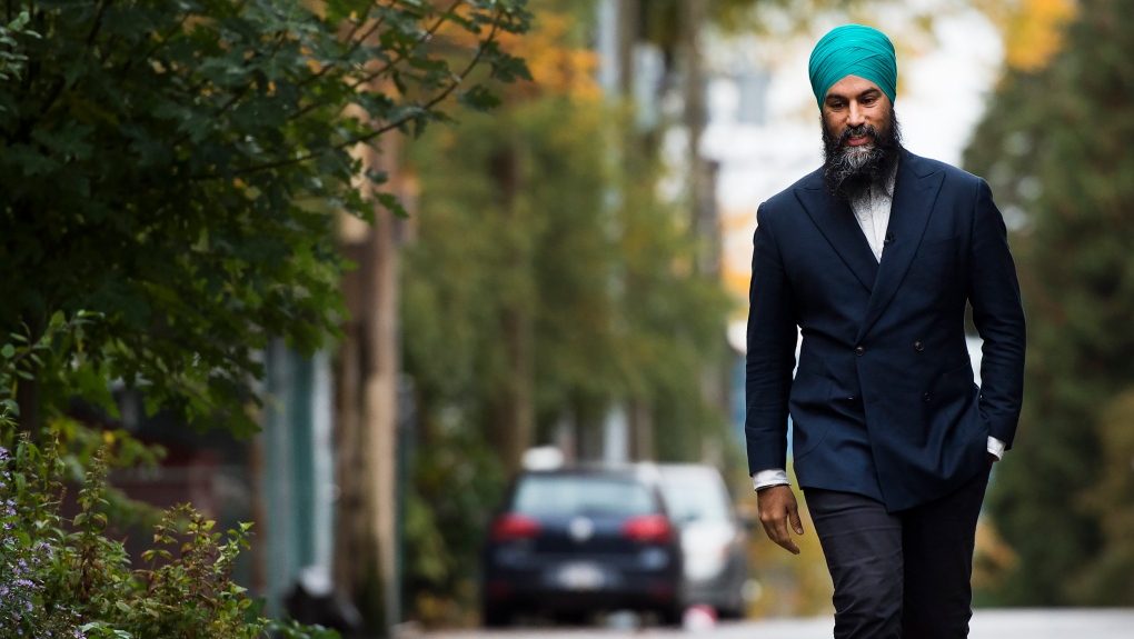 Singh campaigns on housing in Vancouver battleground
