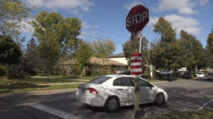 Residents in the Brigadoon neighbourhood are concerned over cars that are failing to stop.