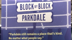 The block party in Toronto's Parkdale neighbourhood was the second event held by the Toronto Ward Museum.