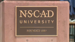 NSCAD sign