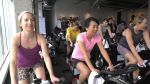 Spin class fundraises for cancer patients