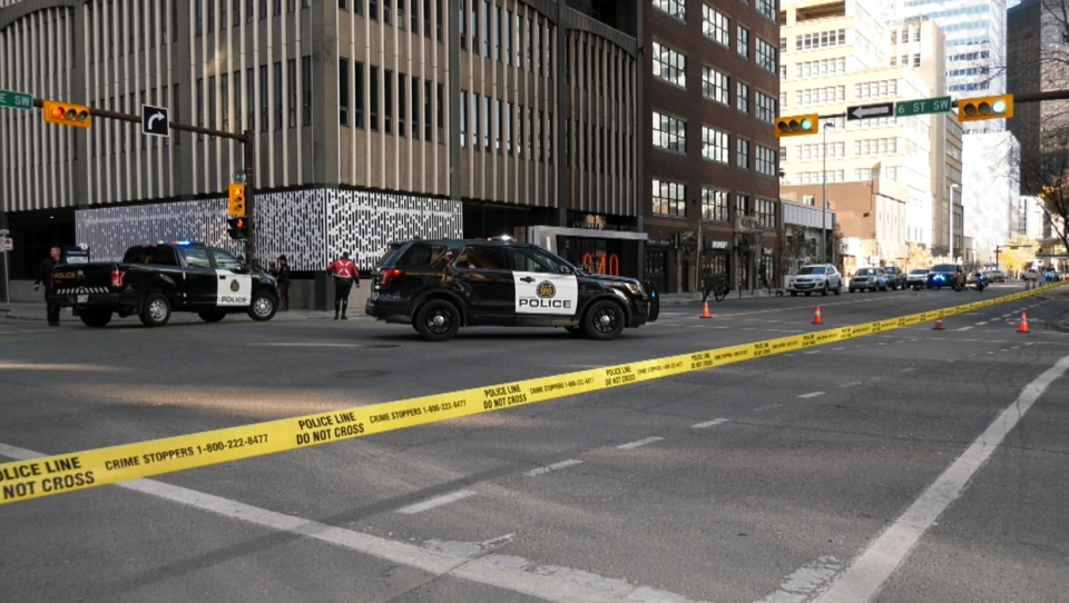 A 12-year member of the Calgary Police Service opened fire on the suspect's vehicle when it tried to evade arrest at about 3 p.m. on Saturday.