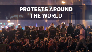 A look at major protests around the world