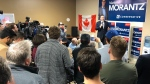 Alberta Premier Jason Kenney travelled to the Winnipeg area to stump for Consrevative canddiate Marty Morantz on the weekend. Oct. 19, 2019. (Twitter/@jkenney)