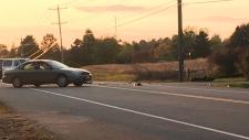 Motorcycle crash in Wilmot