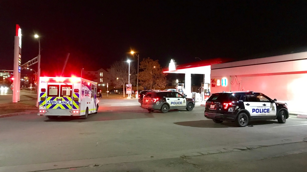 Two people stabbed north of downtown Edmonton