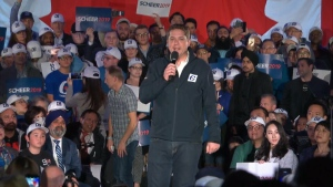 Scheer speaks at campaign event in B.C.