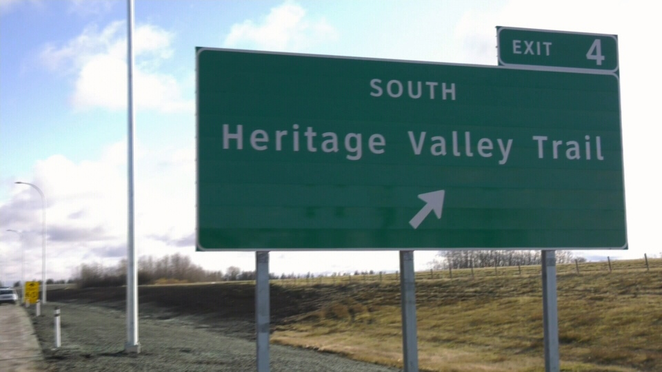 Heritage Valley Trail exit