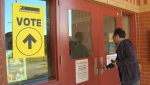 Polls opened in Calgary on Monday at 7:30 a.m.