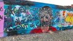Greta Thunberg mural defaced