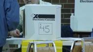 Ballot box, federal election, Elections Canada