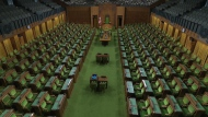 House of Commons, empty