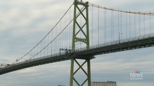 CTV Atlantic: Man falls off Macdonald Bridge