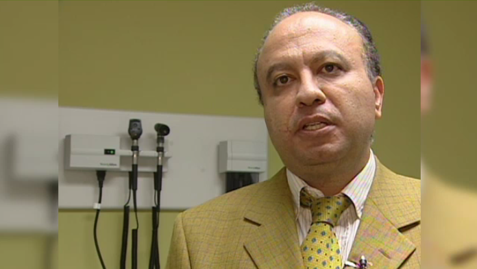 Dr. Sam Fikry in an interview with CTV from 2010.