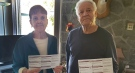 Franco and Lyse Arnone were turned away from a polling station Monday morning, unable to cast their ballots in a very close election.