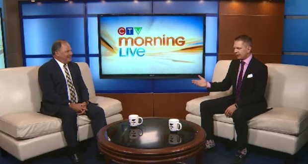 Teeing up election day with CTV's Don Martin