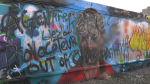 Greta mural