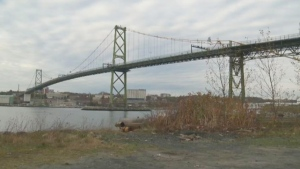 Macdonald Bridge fall