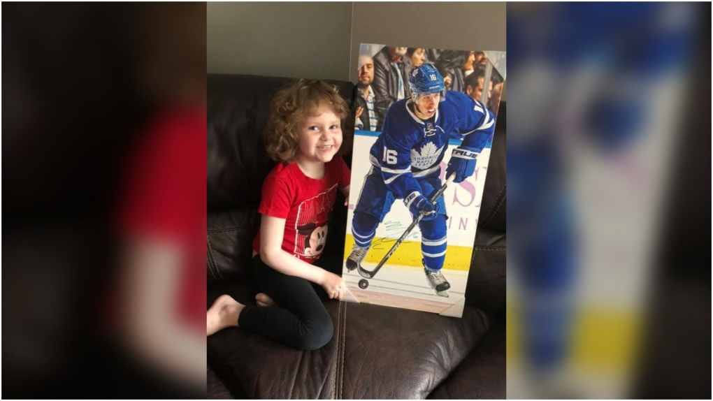 Young girl who befriended Toronto Maple Leafs' Mitch Marner loses cancer battle