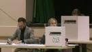Calgarians mark their ballots