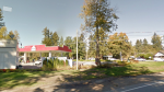 A fire broke out at this gas station in Surrey, B.C. on Oct. 21. (Photo: Google Street View)