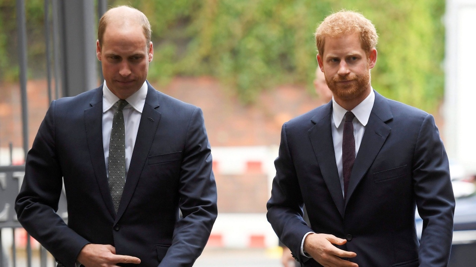 Prince William, the Duke of Cambridge, left, and Prince Harry arrive to visit the Support4Grenfell Community Hub in London, Tuesday, Sept. 5, 2017. (Toby Melville/ Pool via AP)