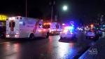 Van strikes pedestrian in Burnaby