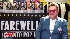 Elton John on etalk