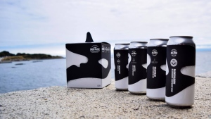 Vancouver Island Brewing's Pod Pack took home the title of Best Packaging Design at the 2019 B.C. Beer Awards. (Vancouver Island Brewing/Facebook)