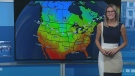 Rain, cooler weather on early-week forecast