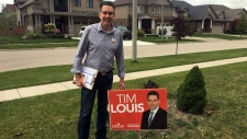 Liberal Party of Canada candidate Tim Louis. (@votetimlouis / Twitter)