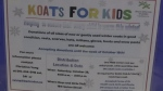 Koats for Kids kicks off as cold weather moves in