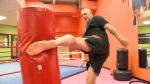 Legendary fighter 'Iceman' kicks it old school