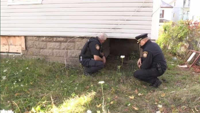 """Once a week, crews from the Moncton Fire Department inspect and secure each of the 62 properties currently on the department's """"vacant and unoccupied"""" list."""