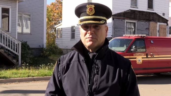 Moncton fire prevention officer Charles Leblanc says people on the street are looking for refuge so they'll break into the properties and they'll find whatever means they can to try and keep warm, including lighting a fire inside the building.