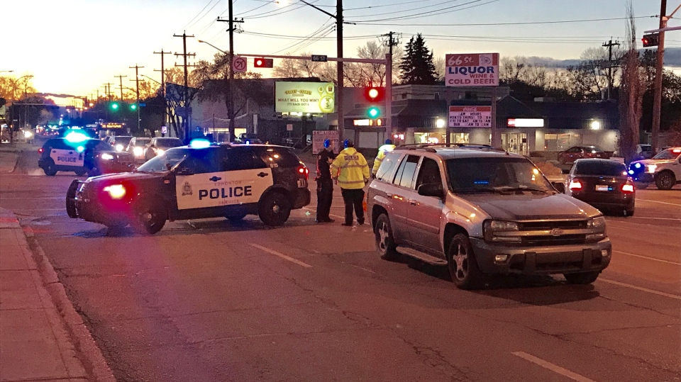 The crash happened at 118 Avenue and 66 Street in the late afternoon of Oct. 21.