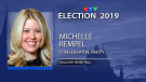 Conservative MP Michelle Rempel has been re-elected in Calgary Nose Hill.