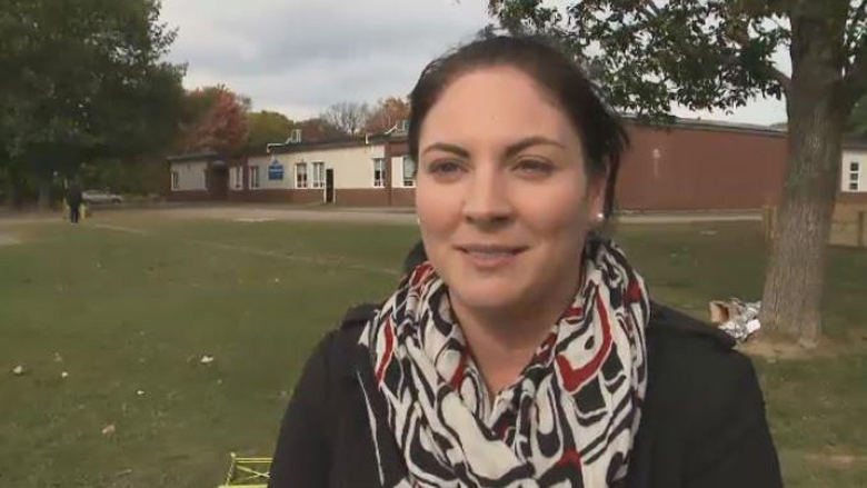 Jenica Atwin speaks with CTV News Atlantic in this file photo taken from video.