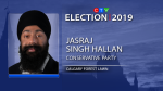 Conservative Jasraj Singh Hallan re-elected in Calgary Forest Lawn