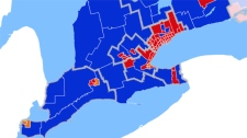 Results in southwestern Ontario