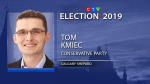 Conservative Tom Kmiec re-elected in Calgary Shepard