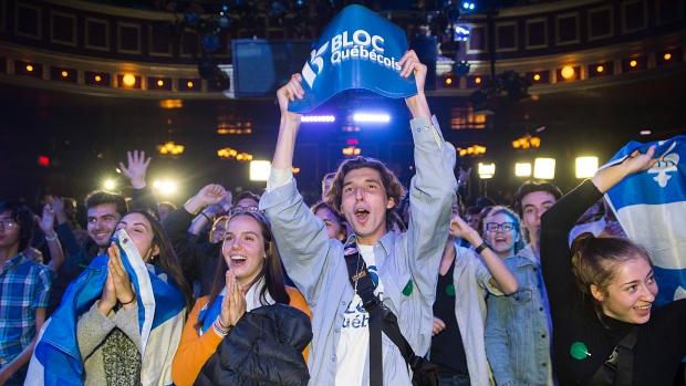 Bloc Quebecois to regain party status in decisive resurgence
