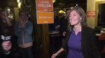 Laurel Collins celebrates her victory: Oct. 21, 2019 (CTV News)