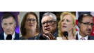 Major political losses across Canada